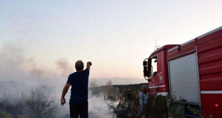 Φτέρες Παναιτωλίου Αγρινίου: Πυρκαγιά κατά τις μεσημεριανές ώρες
