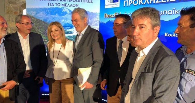 Συμμετοχή της Χ. Σταρακά στην περιοδεία στην Κοιλάδα του Αχελώου με τον Χ. Στυλιανίδη (Βίντεο)