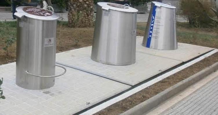 Οκτώ νέα συστήματα υπόγειων κάδων απορριμμάτων στο Δήμο Ι. Π. Μεσολογγίου