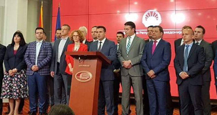 Διάγγελμα Ζάεφ: Τέλος πια το ΠΓΔΜ -Εχουμε ένα αξιοπρεπές όνομα, το «Βόρεια Μακεδονία»