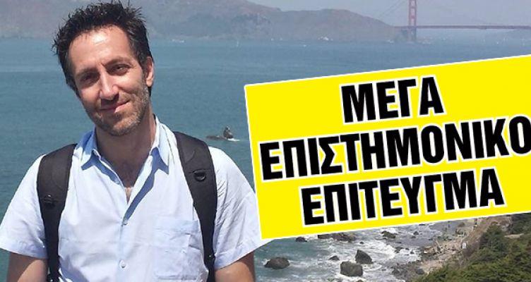 Ο Πατρινός ερευνητής Νίκος Ζαχαράκης νίκησε την ασθένεια που σκότωσε τη μητέρα του