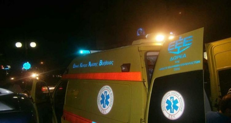 Ναύπακτος: Τροχαίο με δυο τραυματίες στην Παλαιοπαναγιά