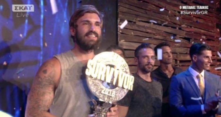 Survivor 2018 – Τελικός: Μεγάλος νικητής ο Ηλίας Γκότσης!