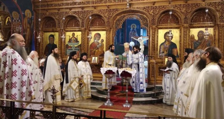 Ιερά Αγρυπνία για την Ελλάδα στο Αγρίνιο