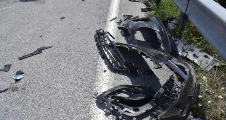 Τροχαίο ατύχημα σημειώθηκε στην οδό Βλαχοπούλου στο Μεσολόγγι