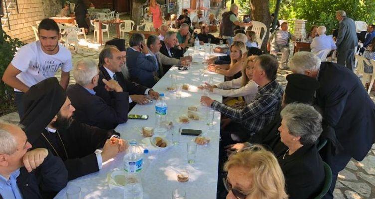 Ορ. Ναυπακτία: Σταρακά-Κατσιφάρας στη γιορτή των 100 χρόνων του Συλλόγου «Άγιος Αθανάσιος»