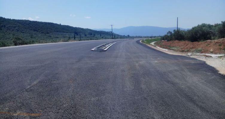 Αγρίνιο-Καρπενήσι: Μεγάλο τμήμα των πέντε πρώτων χιλιομέτρων έχει ήδη ασφαλτοστρωθεί (Φωτό)