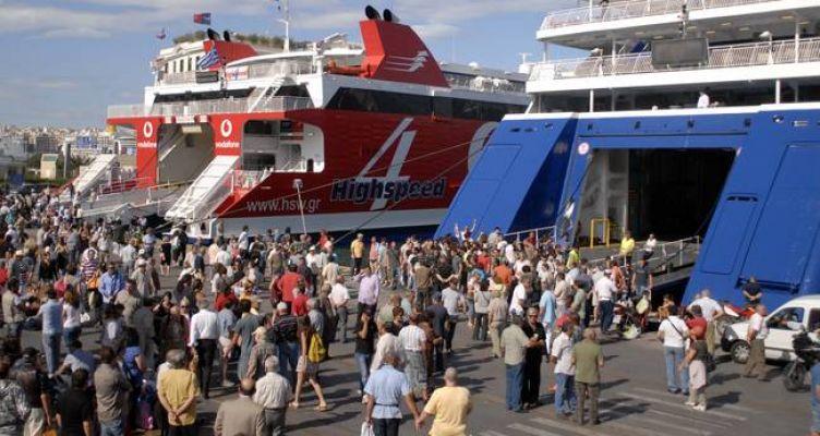Αυξημένη η κίνηση σήμερα στα λιμάνια – 57.774 αναχώρησαν χθες