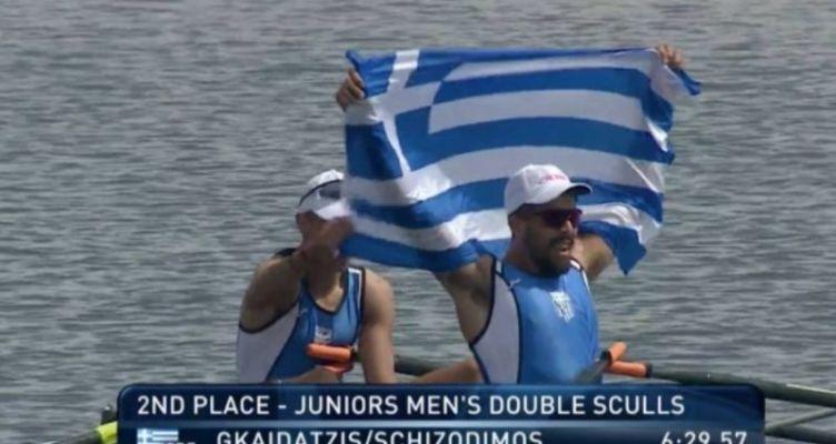 Παγκόσμιο Πρωτάθλημα Κωπηλασίας Εφήβων-Νεανίδων: Κι άλλο ασημένιο μετάλλιο!