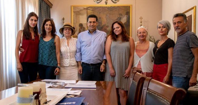 Συνάντηση με τον Γ. Παπαναστασίου είχαν μέλη τηςΔΡΩ –Κίνηση Πολιτών για την Αιτ/νία
