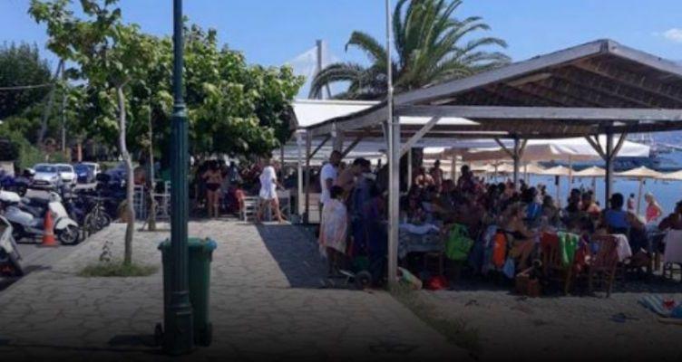 Γέμισε Πατρινούς η παραλία του Αντιρρίου – Πανικός στην Πορθμειακή γραμμή (Βίντεο-Φωτό)