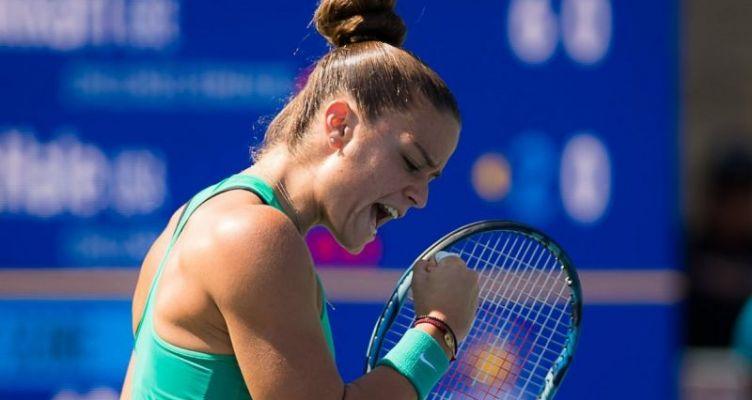 Τουρνουά του Σαν Χοσέ: Στον τελικό η Ελληνίδα τενίστρια, Μαρία Σάκκαρη!