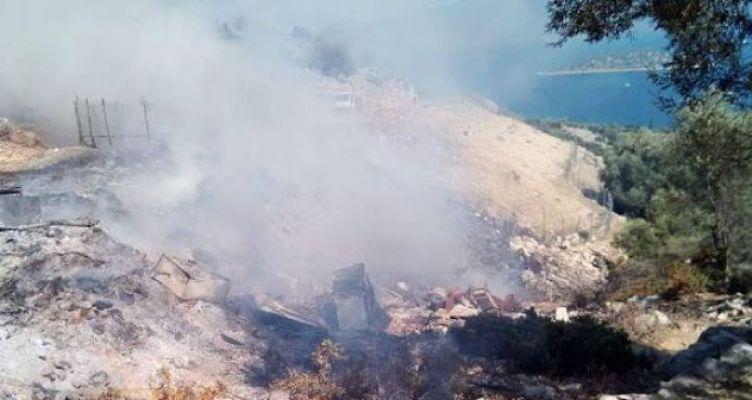 Φωτιά ξέσπασε πριν από λίγο στο Ευηνοχώρι Μεσολογγίου (Βίντεο-Φωτό)