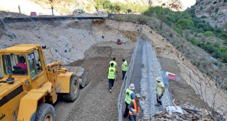 Εξέλιξη του έργου στην Κλεισούρα – Απόστολος Κατσιφάρας: «Άμεση αποκατάσταση» (Βίντεο-Φωτό)