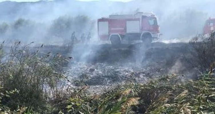 Παναιτώλιο Αγρινίου: Μεγάλη κινητοποίηση της Π.Υ. για πυρκαγιά (Φωτό)