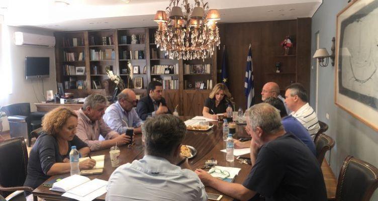 Μεσολόγγι: Σύσκεψη στο πλαίσιο της Αναθεώρησης του Στρατηγικού Πλαισίου Επενδύσεων Μεταφορών