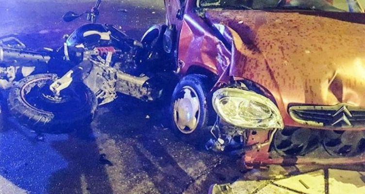 Ένας νεκρός και μια σοβαρά τραυματίας από σφοδρή σύγκρουση Ι.Χ. με μοτοσικλέτα