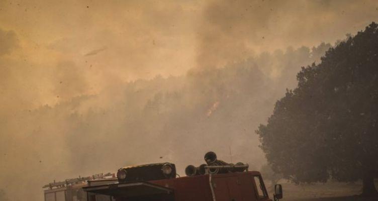Πυρκαγιά σε δασική έκταση στη θέση πλατύ Κομποτίου Άρτας