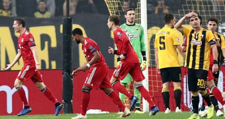 Champions League: Έχασε τον αγώνα, αλλά κέρδισε το χειροκρότημα η Α.Ε.Κ.