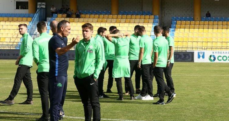 Κύπελλο Ελλάδας: Ντεμπούτο Αποστολάκη στην γενέτειρα του πατέρα του