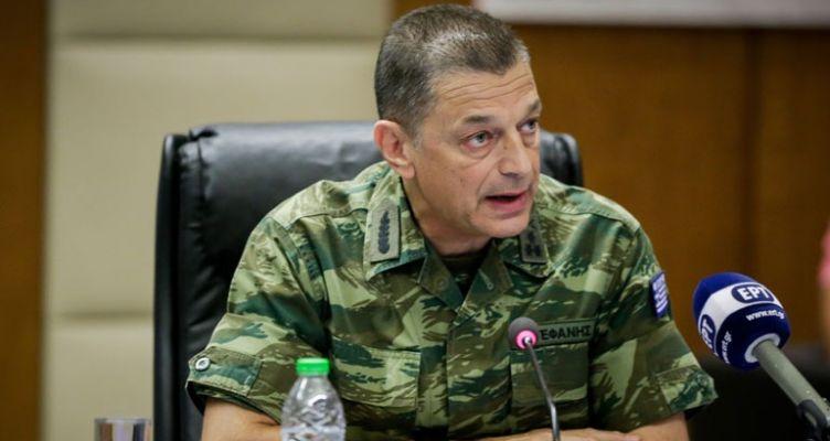 Συνάντηση αρχηγού ΓΕΣ με το διοικητή του Στρατού των Η.Π.Α. στην Ευρώπη