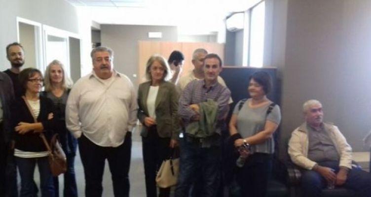 Συνάντηση του ΕΠΑ.Λ. Καινουρίου με τον Περιφερειακό Διευθυντή Εκπαίδευσης στην Πάτρα (Φωτό)