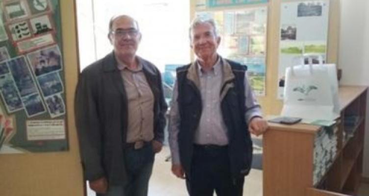 Επίσκεψη του Μεσολογγίτη Γεώργιου Δημαρά στο Φ.Δ./Λ.Μ.-Α.Ο.