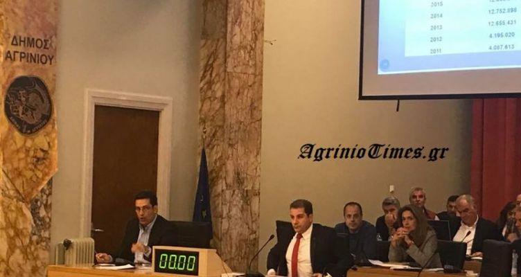 Υπερψηφίστηκε ο απολογισμός του Δ. Αγρινίου – Φωτορεπορτάζ AgrinioTimes.gr