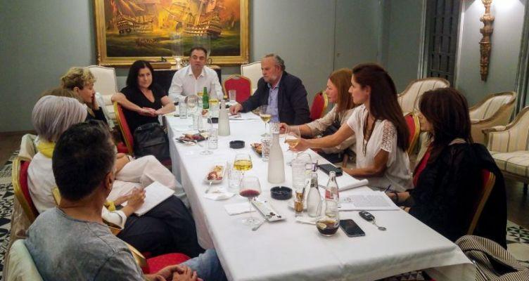 Ενημερωτική συνάντηση «ΔΡΩ» με βουλευτές για την «Διαδρομή Φύσης και Πολιτισμού»