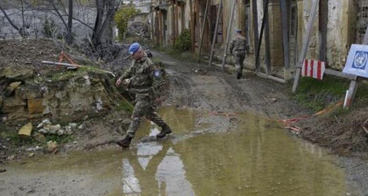 Ένταση στη νεκρή ζώνη μεταξύ Ελληνοκυπρίων γεωργών και Τούρκων στρατιωτών