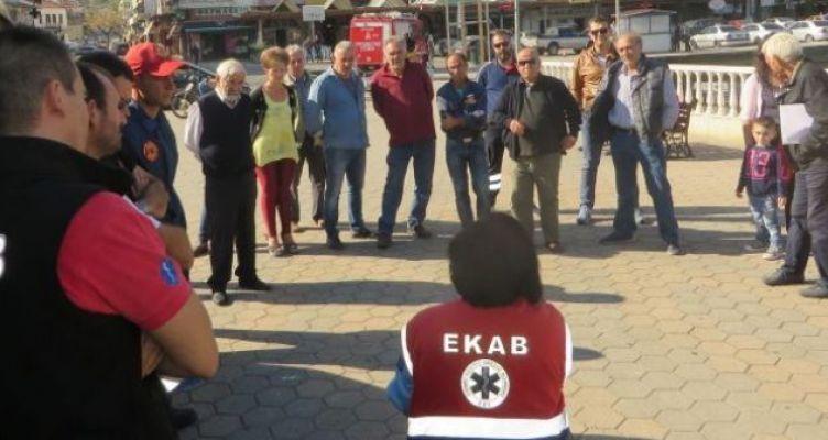 Αμφιλοχία: Ενημέρωση πολιτών με αφορμή την Ευρωπαϊκή Ημέρα Eπανεκκίνησης Kαρδιάς (Φωτό)