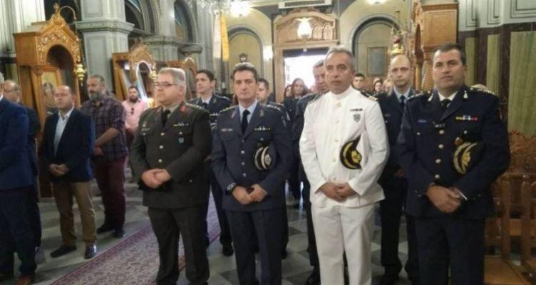 Γιόρτασαν τον προστάτη τους και οι αστυνομικοί του Μεσολογγίου