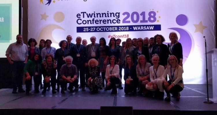 Βραβεύσεις Ελληνικών Έργων στο ετήσιο Ευρωπαϊκό συνέδριο eTwinning στη Βαρσοβία