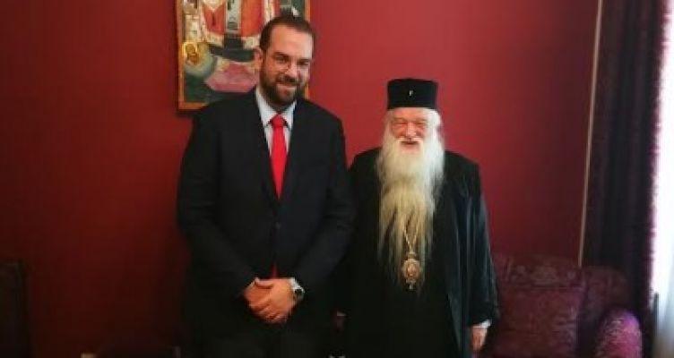 Συναντήσεις του υποψήφιου Αγρινιώτη Περιφερειάρχη Δ.Ε. Νεκτάριου Φαρμάκη στο Αίγιο