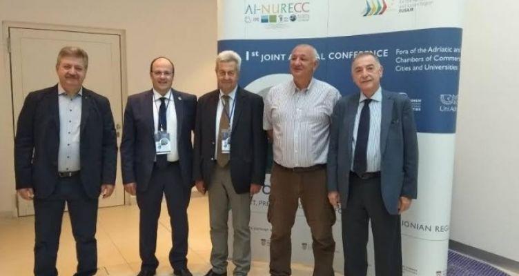 Συμμετοχή του Επιμελητηρίου Αιτ/νίας σε Κοινή Συνδιάσκεψη και Συνέδριο – Εκλογή Τσιχριτζή