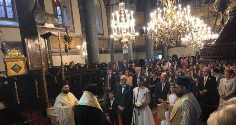 Φανάρι: Την Ελληνίδα πρόξενο στην Κωνσταντινούπολη παντρεύτηκε ο δημοσιογράφος Μ. Κωστίδης (Φωτό)