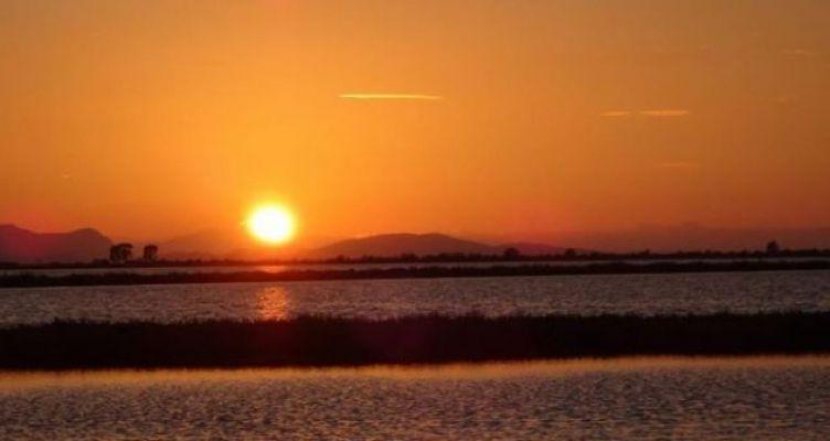 Το «μαγευτικό» μεσολογγίτικο ηλιοβασίλεμα (Φωτό)