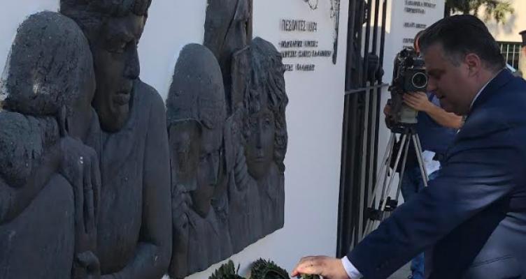 Ημέρες Μνήμης Μόρφου με τη συμμετοχή Καραπάνου και εκπροσώπων του Δήμου Ι.Π. Μεσολογγίου