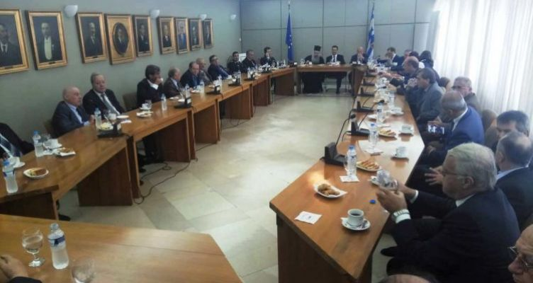 Πραγματοποιήθηκε η καθιερωμένη δεξίωση στο Δημαρχείο Αγρινίου (Φωτό)