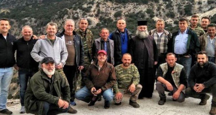 Εγκαίνια στο καταφύγιο του κυνηγετικού συλλόγου Βόνιτσας στα Ακαρνανικά