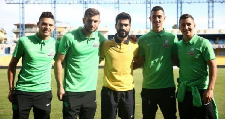 Κύπελλο Ελλάδας: Η συνάντηση του Μαρινάκη με τους πρώην συμπαίχτες του στο Αγρίνιο