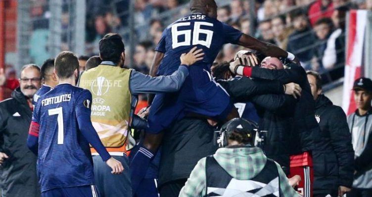 Europa League: Ζορίστηκε αλλά επικράτησε της Ντουντελάνζ ο Ολυμπιακός