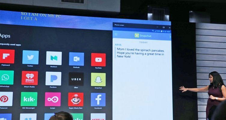 Σύντομα θα μπορείτε να δείτε την οθόνη του κινητού σας στα Windows 10