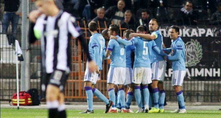 Europa League: Ήττα με 2-0 για τον Π.Α.Ο.Κ. από τη Βίντι