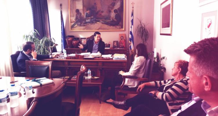 Δημαρχείο Αγρινίου: Συνάντηση του Γ. Παπαναστασίου με την κ. Νίκη Κεραμέως