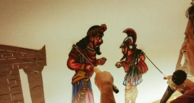 «Ο Καραγκιόζης και ο Μινώταυρος» από τον Χρήστο Πατρινό έρχεται στο Αγρίνιο (Φωτό)