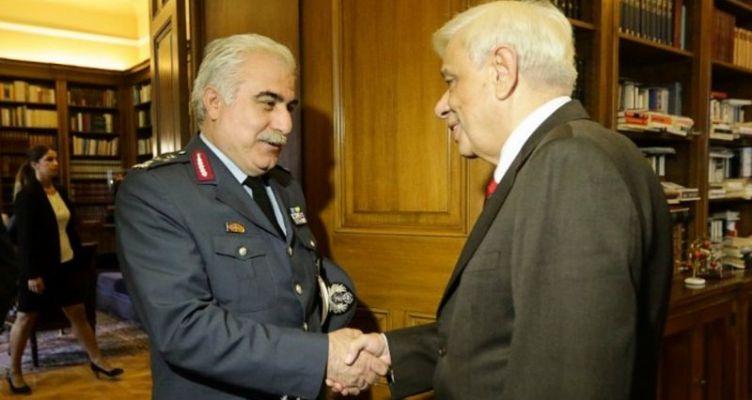 Συνάντηση ΠτΔ Π. Παυλόπουλου με τον νέο αρχηγό της ΕΛ.ΑΣ. αντιστράτηγο Αριστείδη Ανδρικόπουλο