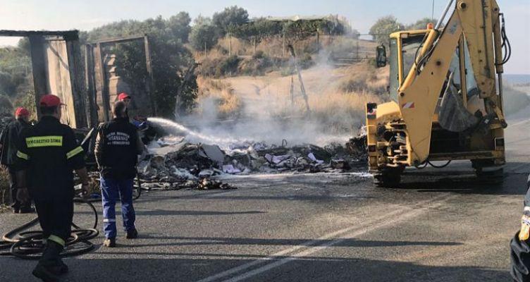 11 νεκροί σε τροχαίο – Κάηκαν εγκλωβισμένοι (Φωτό)