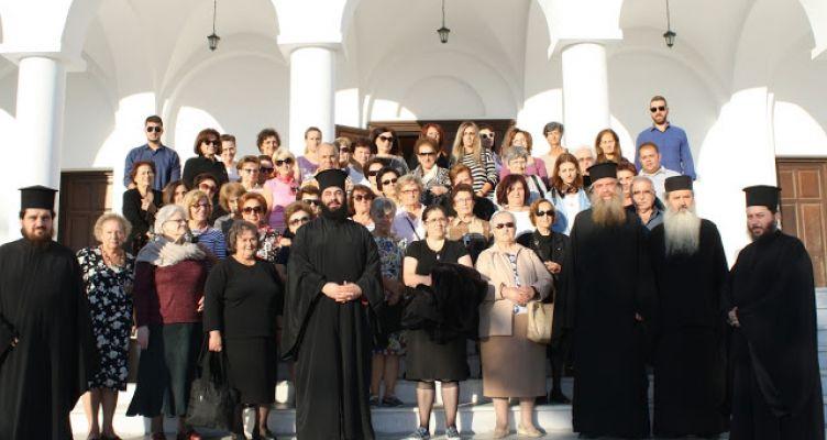 Ι.Ν. Αγίας Τριάδος Αγρινίου: Προσκυνηματική εκδρομή στη Νάξο με τη συμμετοχή 60 ατόμων