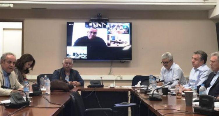 Συνάντηση Συντονιστών Αποκεντρωμένων Διοικήσεων με το Δ.Σ. της ΕΝ.Π.Ε.
